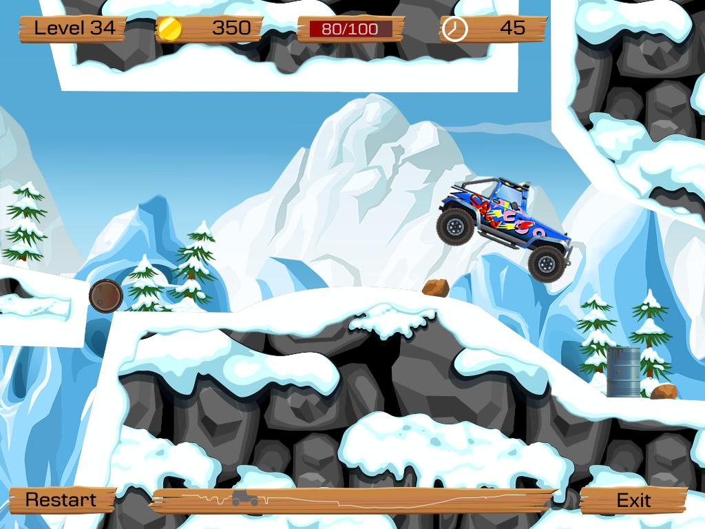 Snow Off Road - screenshot