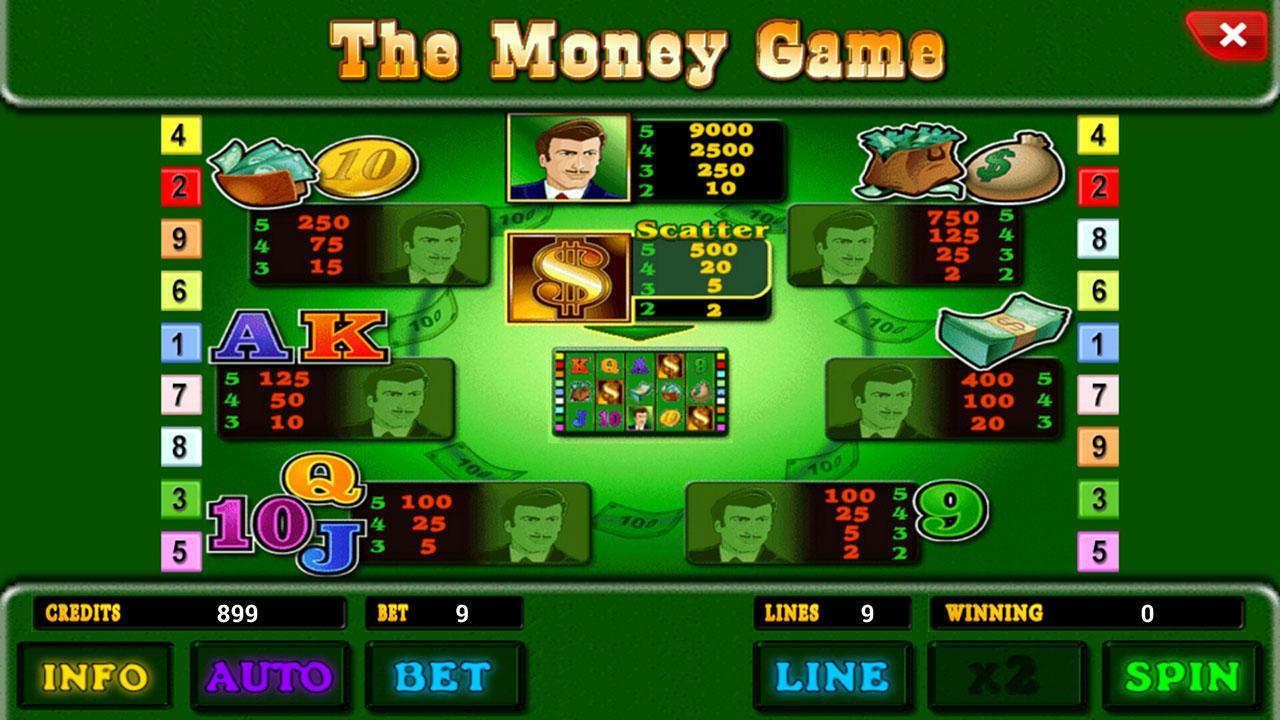 Играть в игровой автомат The Money Game онлайн