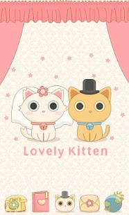 LovelyKitten GO Reward Theme - screenshot thumbnail