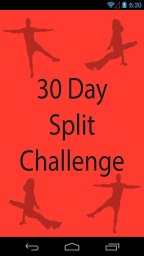 30 Day Splits Challenge