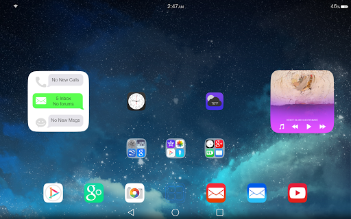 Ultimate iOS8 Launcher Theme v1.3
