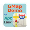 GMap Demo by AppLaud logo