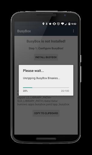 BusyBox Installer (No Root) 3.66.0.41 screenshots 2