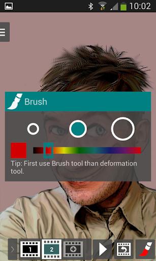 Photo Bender- Deform & Animate 1.4.5 screenshots 2