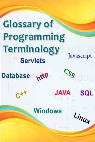 Programming Glossary