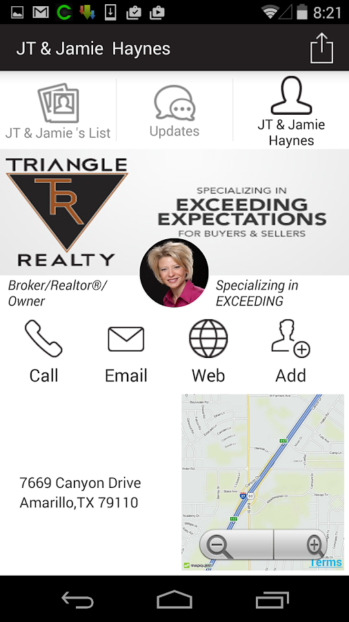 Triangle Realty- screenshot