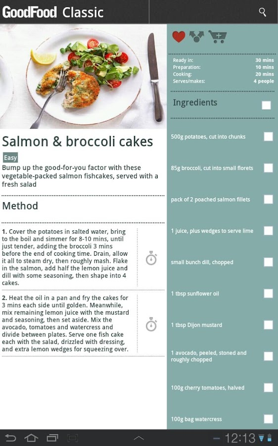BBC Good Food - Recipes - screenshot