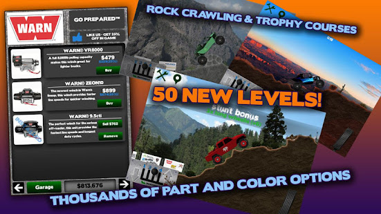 Screenshots of Offroad Nation™ Demo for iPhone