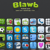 blawb LauncherPro Theme