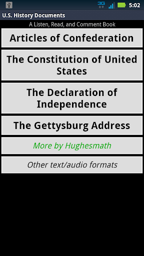 Listen Read US Hist Documents