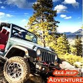 Hill Climbing 4x4 Hummer Jeep