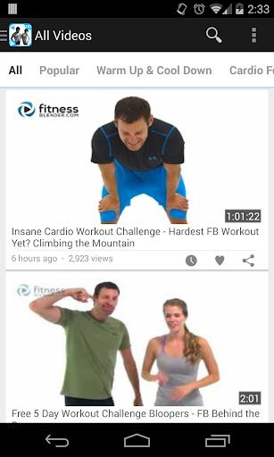 FitnessBlender Workout Videos