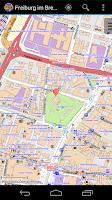 Screenshot of Freiburg im Breisgau City Map