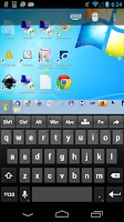Screenshot of Remote Desktop Client