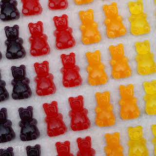 Homemade Gummy Bears.