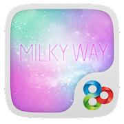 Milky Way GO Launcher Theme