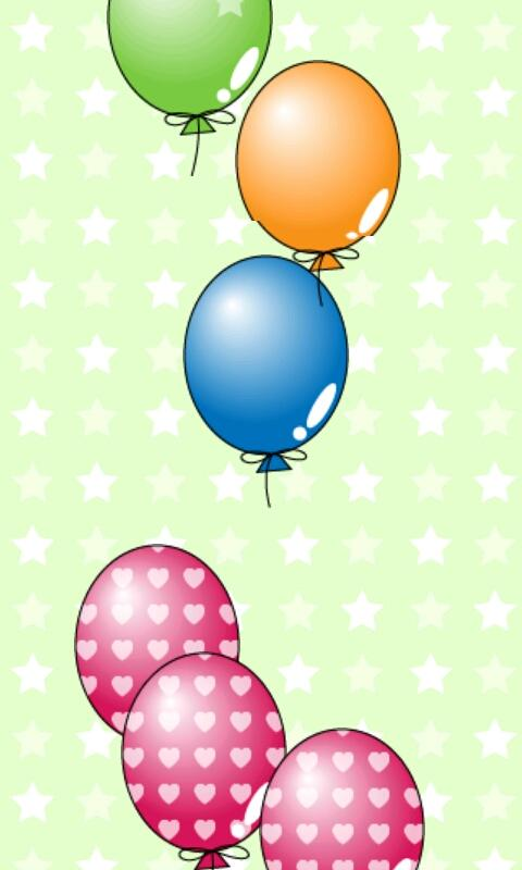 My baby Game (Balloon POP!)- screenshot