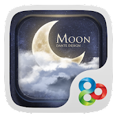 Moon GO Launcher Theme