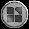 Next Launcher Bio Gray Theme icon