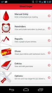 Blood Sugar Tracker - screenshot thumbnail