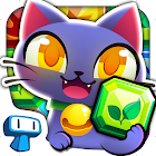 Magic Cats - Cute Kitty Match-3 Puzzle Free Game icon