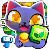 Magic Cats - Match 3 Puzzle
