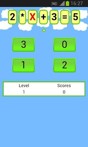 數學方程遊戲