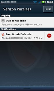 Text Bomb Defender - screenshot thumbnail