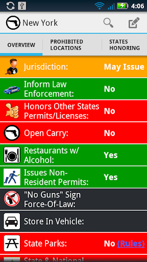 Concealed Carry Weapon Laws 3.0 screenshots 1