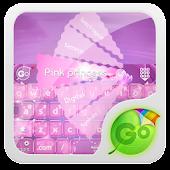 Pink princess GO Keyboard