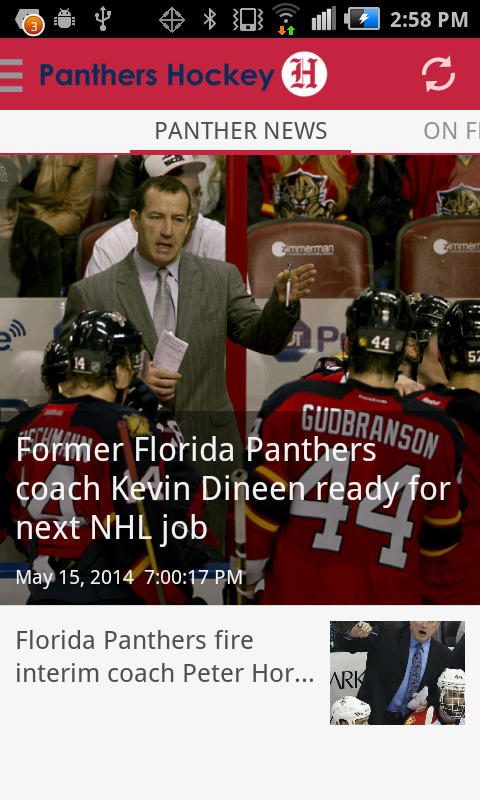Panthers Hockey - screenshot