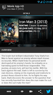Movie App HD - screenshot thumbnail