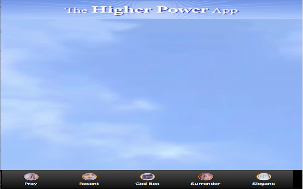 Higher Power App - screenshot