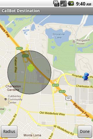 Location Voice Caller - screenshot