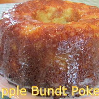 PINEAPPLE BUNDT POKE CAKE.