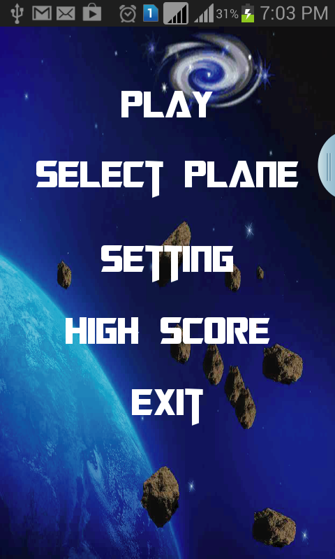Sky Shooter- screenshot