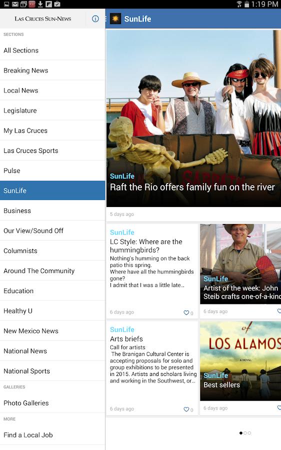 Las Cruces Sun News - screenshot