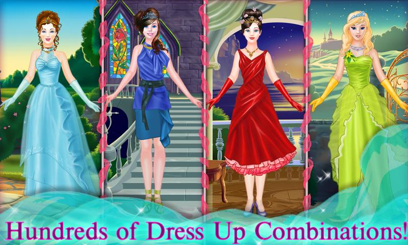 Fairy Tale Princess Dress Up- screenshot