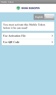 Mobile Token Bukopin - screenshot thumbnail