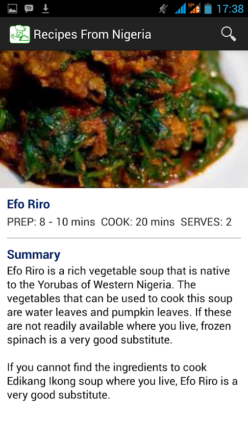 Recipes from nigeria android apps on google play recipes from nigeria screenshot forumfinder Gallery