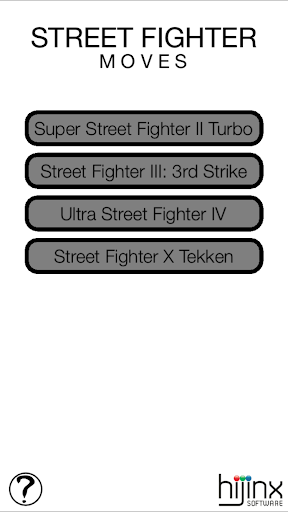 Street Fighter Moves
