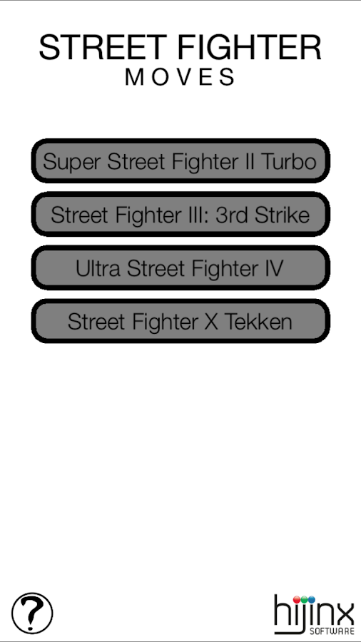 Street Fighter Moves- screenshot