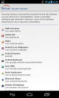 Screenshot of Belarc Security Advisor