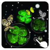 Magic Ripple:3D Shamrock LWP