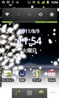 Screenshot of Snowy Night Live Wallpaper