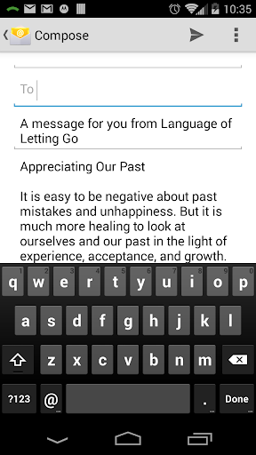 Screenshot for The Language of Letting Go in Hong Kong Play Store