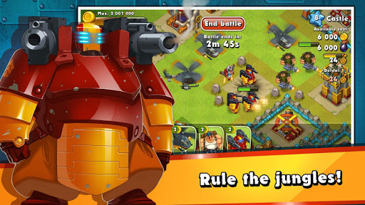 Jungle Heat: War of Clans 2.1.1 Screenshots 5