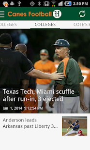 Canes Football- screenshot thumbnail