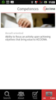 Screenshot of ACCIONA JOBS