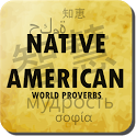 Native American proverbs icon